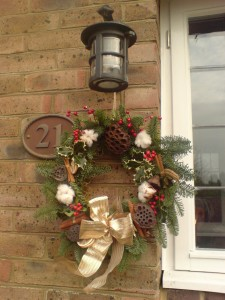 Christmas Wreath No. 2